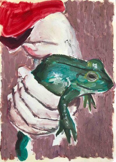 Tomas Harker, 'Frog (study)', 2020