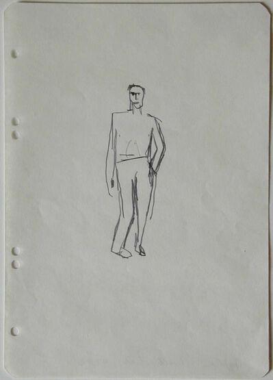 Stephan Balkenhol, 'Untitled', 1983