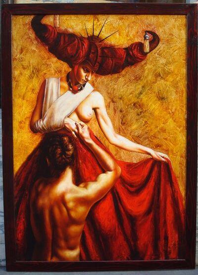 Saturno Butto, 'Coppia Inquietta'
