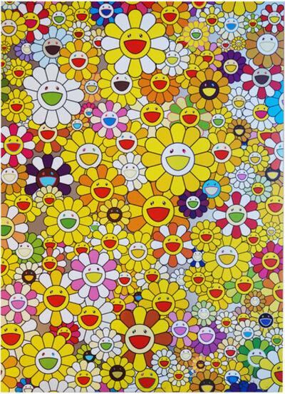 Takashi Murakami, 'A HOMAGE TO MONOGOLD 1960 A', 2012