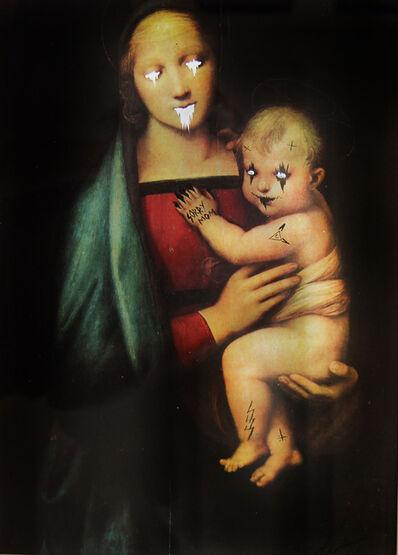 Ciler, 'Ejercicio de apropiación, La Virgen del Gran Duque de Rafael', 2017