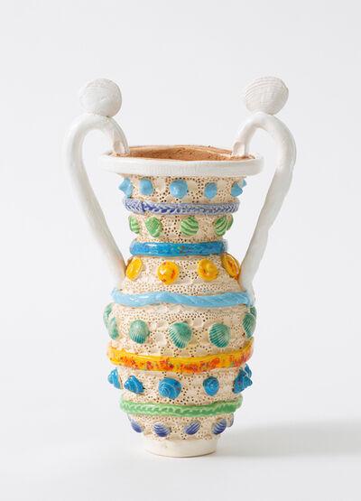 Glenn Barkley, 'shell vase with handles', 2019