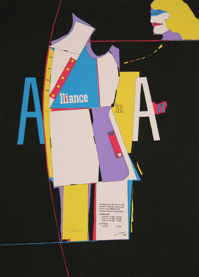 Richard Lindner, 'Alliance in Art', 1968