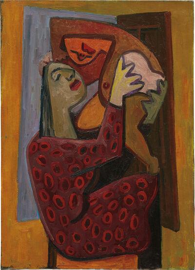 David Park, 'Mother with Polka Dot Dress', ca. 1930s