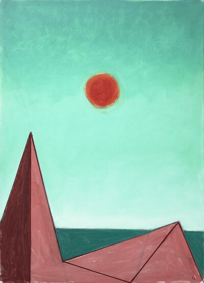 Paul Resika, 'Red Sun (de Chirico)', 2017