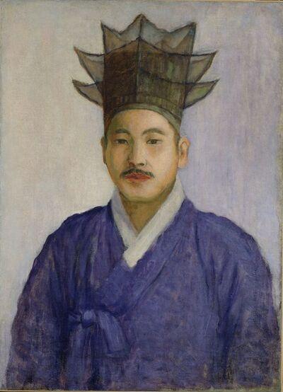 Go Hui-dong 고희동, 'Self-Portrait', 1915