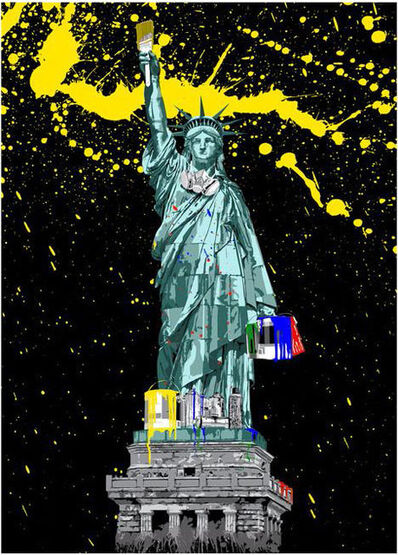 Mr. Brainwash, 'Liberty', 2010