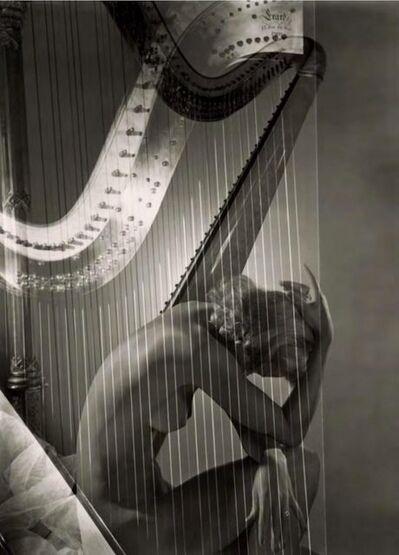 Horst P. Horst, 'Lisa with Harp, 1939', 1939
