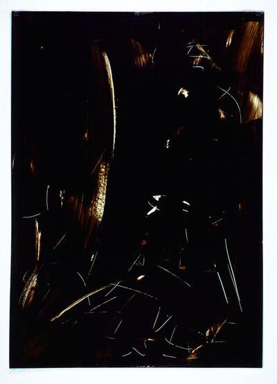 Imi Knoebel, 'Ohne Titel -  Folienzeichnung Nr. 91', 1990