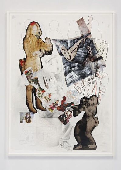 Paulina Olowska, 'The Witch's Dog - Proposal for Costumes of an Imaginary Play', 2012