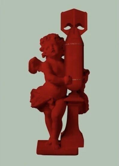 Magnus Gjoen, 'CUPID (AMOR VINCIT OMNIA) - Red', 2020