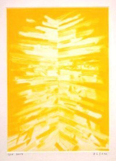 Erik Olson (b. 1982), 'Gordon (Yellow)', 2014