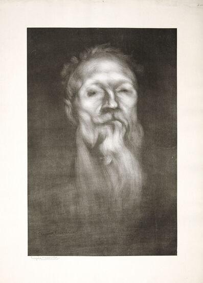 Eugène Carrière, 'Auguste Rodin', 1897