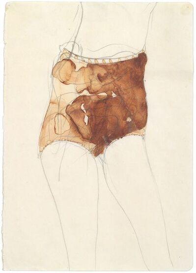Joseph Beuys, 'Mädchen (Hasenblut)', 1957