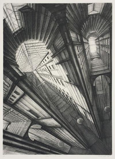 Erik Desmazières, 'Passage choiseul', 1990
