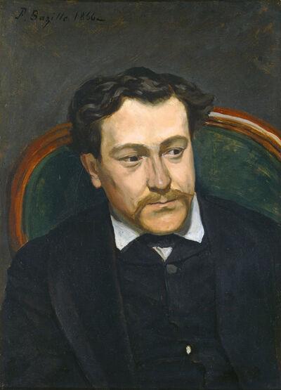 Frédéric Bazille, 'Edouard Blau', 1866