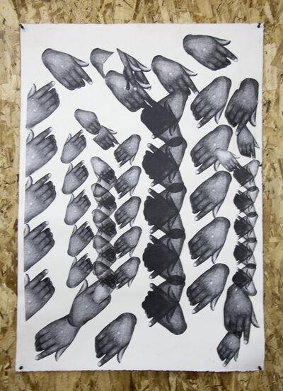 Kandis Williams, 'Hampton Hamsa Lace', 2016