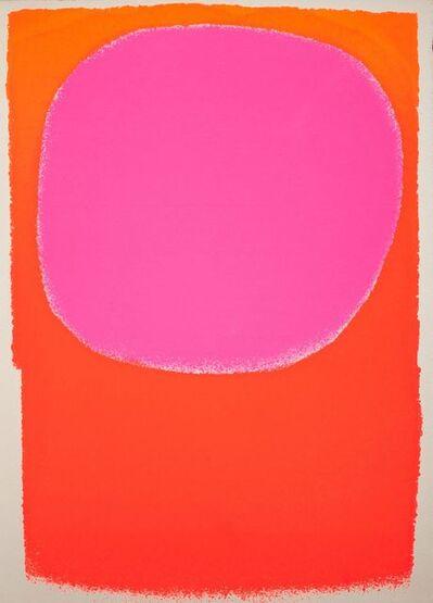 Rupprecht Geiger, 'Rot in Rot/orange - leuchtrot', 1963