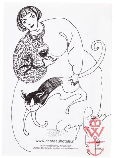 Grayson Perry, 'Untitled (Woman with Cat)', Unknown