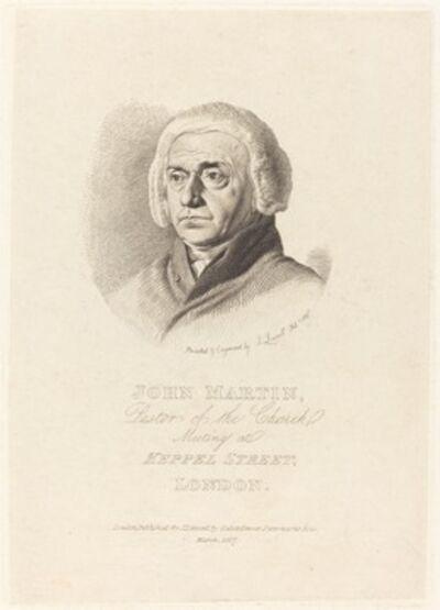 John Linnell, 'John Martin', 1817