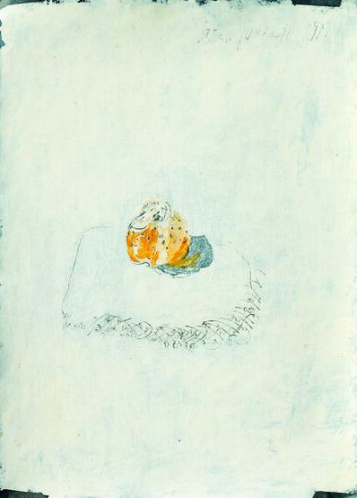 SRĐAN VUKČEVIĆ, 'A Quince for Sticking Toothpicks into it', 1989