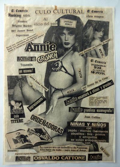 Herbert Rodríguez, 'Annie, culo cultural', 1987