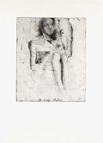 Jim Dine, 'A Sufi Baker', 1976