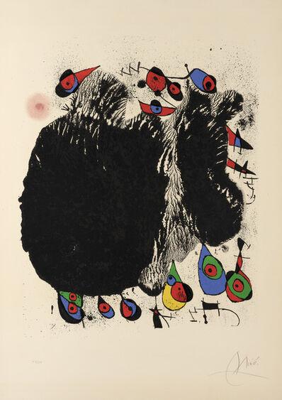 Joan Miró, 'Le Cascade aux Oiseaux ', 1971