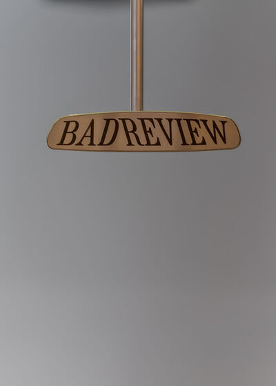 Fiona Banner, 'Bad Review', 2021