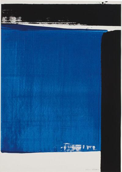 Pierre Soulages, 'Sérigraphie no. 16 (E. & M. 108)', 1981