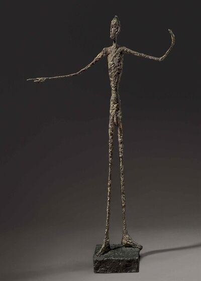 Alberto Giacometti, 'L'homme au doigt', 1947