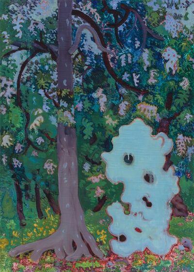 Shi Xinji, 'Trees and Stone', 2016