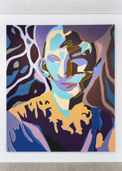 Damon Arhos, 'Agnes Moorehead & Me (No. 10/Figure Portrait)', 2020