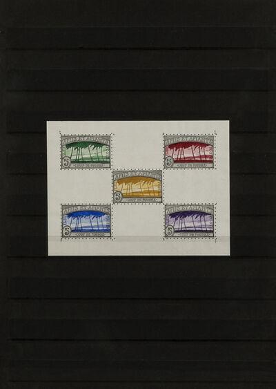 Donald Evans, 'Amis et amants', 1975