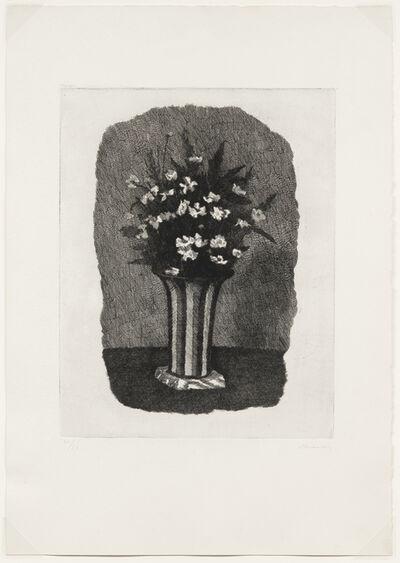 Giorgio Morandi, 'Gelsomini in un vaso a strisce, 1931 or 1932 (Vitali 97)', 1931/1932