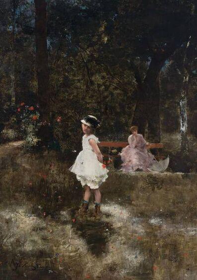 Alfred Émile-Léopold Victor Stevens, 'Les Papillons', 1882