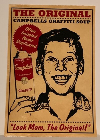Rene Gagnon, 'Original Campbells Series - Boy silkscreen art print', 2010