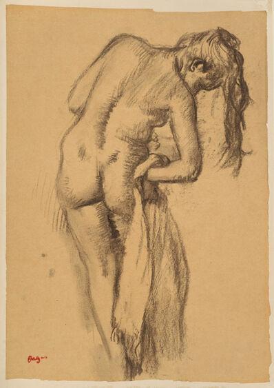 Edgar Degas, 'After the Bath', 1891-1892
