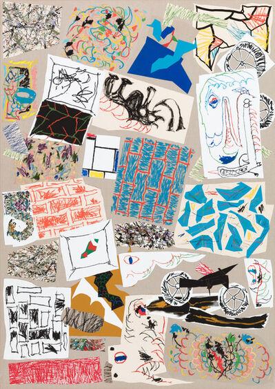 Zander Blom, 'Composition with Stuff', 2018