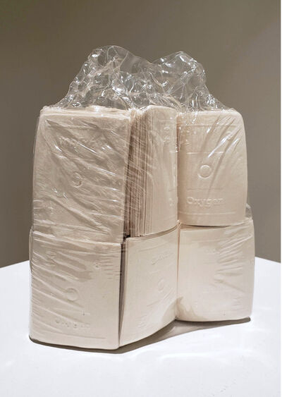 Sarah Irvin, 'Out of the Furrow: Shrink-wrap', 2020