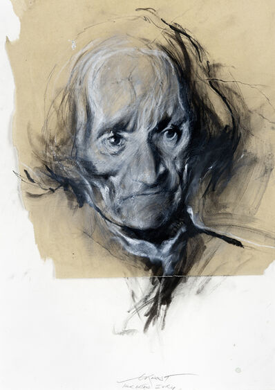 Ernest Pignon-Ernest, 'Artaud (Hôpital d'Ivry)', 1998