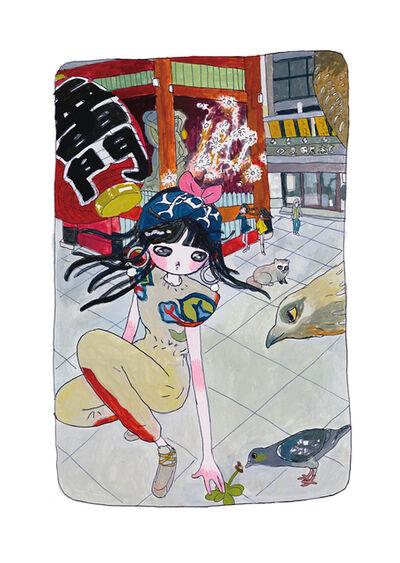 Aya Takano, 'Deep-Connecting with Nature', 2020