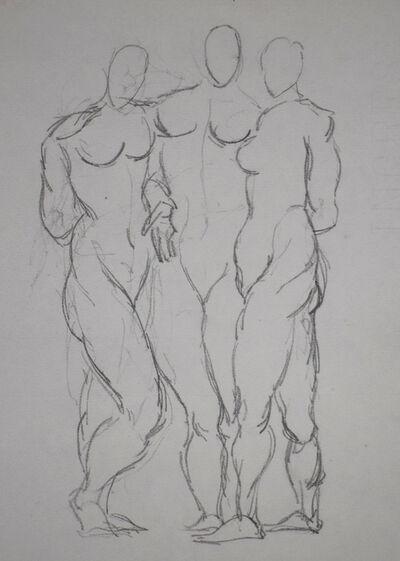 Pablo Picasso, 'Three Standing Nudes | Trois nu debout', 1906