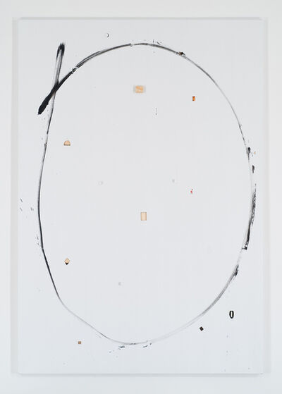 Richard Aldrich, 'Untitled (decisions marked painting)', 2008