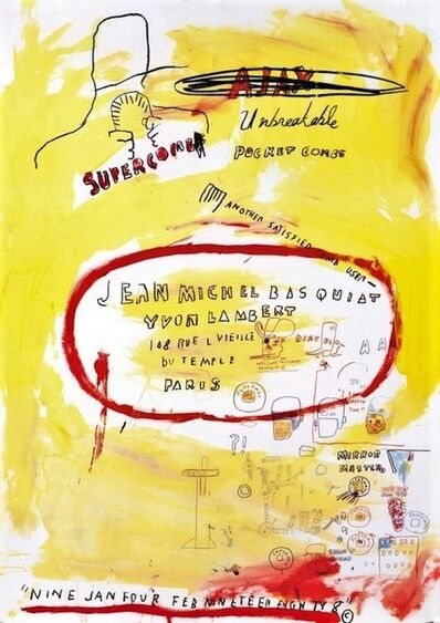 Jean-Michel Basquiat, 'Untitled', 1988