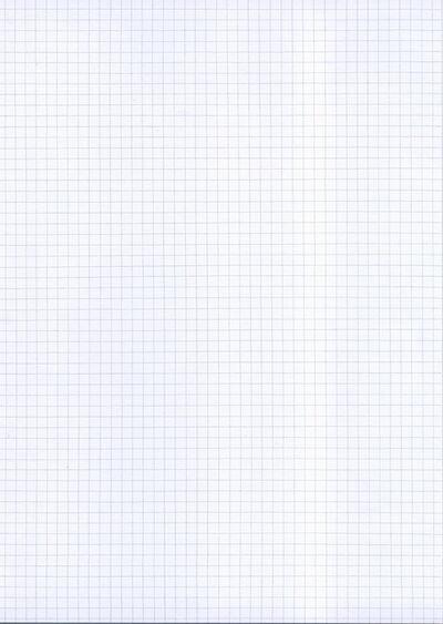 Juergen Krause, 'Ich ziehe freihand Linien, längs und quer, möglichst wie beim Karopapier', 2015