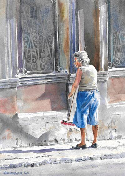 Tony Armendariz, 'The Red Broom', 2011