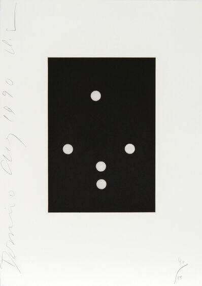 Donald Sultan, 'Dominoes Portfolio - 12', 1990