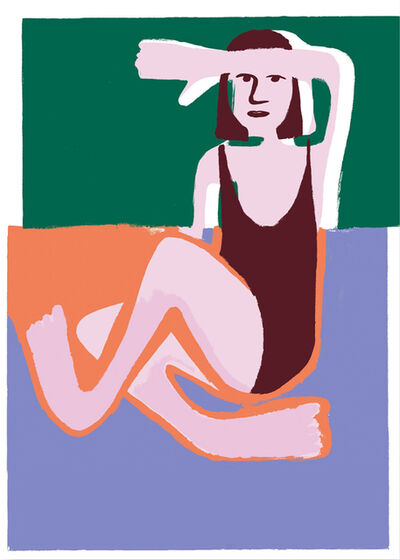 Coline Marotta, 'I Hope I Am Not Too Lazy to Become a Painter', 2018