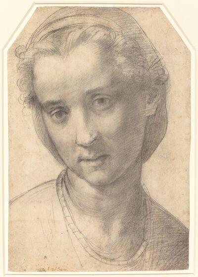 Andrea del Sarto, 'Head of a Woman', ca. 1515